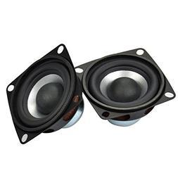 """2 PCS 2"""" Tweeter Speakers 8Ω Heavy Duty Coaxial Speakers 5W"""