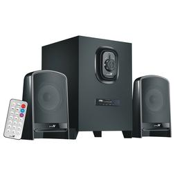 US Multi-media 2.1 PC Computer Speakers Audio System w/ Powe