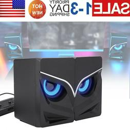 usb 2 1 computer speakers with subwoofer