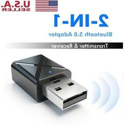 USB Bluetooth 5.0 Audio Transmitter/Receiver Adapter for TV/