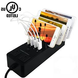 USB Charging Station Dock Tablets UL Certification with 4-po