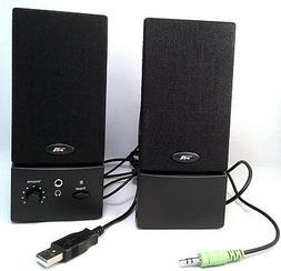 USB Computer Speakers PC Desktop Laptop Stereo for Toshiba D
