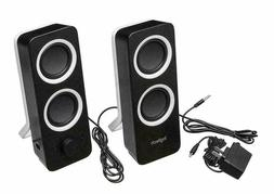 USB Computer Speakers PC Desktop Laptop Stereo for Toshiba D