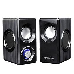 Hoxen USB Computer Speakers, Small Speakers For Laptop Deskt
