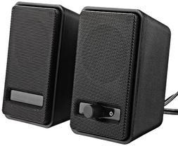 AmazonBasics USB Powered Computer Speakers , 10-Pack