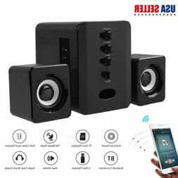 usb powered computer speakers stereo bluetooth column