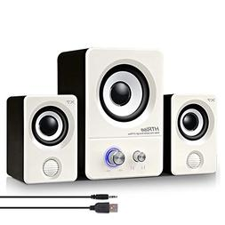 HTRise USB Powered Computer Speakers System  for Gaming/Musi