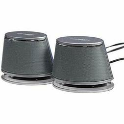 AmazonBasics USB-Powered PC Computer Speakers with Dynamic S