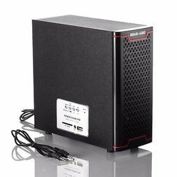 USB Powered PC Speakers Computer Desktop Laptop USB 2.1ch w/
