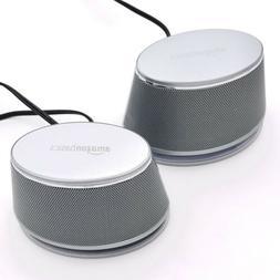 AmazonBasics USB-Powered Computer Speakers with Dynamic Soun