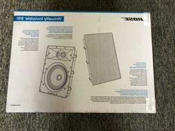 Bose Virtually Invisible 891 In-Wall Speaker Pair White Bran