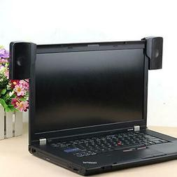 Hot Wall-mounted External Computer USB Speaker Stereo for Mu