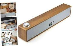 Wired Computer Sound Bar, USB-Powered PC Speakers;  MF60 Woo