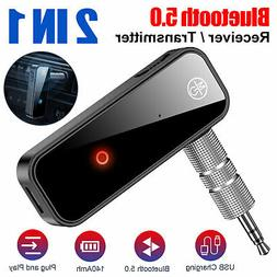 Wireless Bluetooth Transmitter&Receiver AUX RCA Adapter for