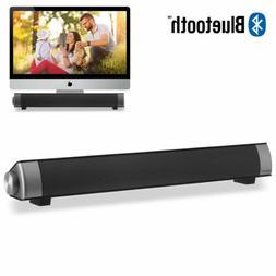 Wireless Computer Speaker for PC Laptop Desktop Home TV Soun
