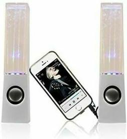 I-Kool WTR-Blck Original Water Dancing Speakers Super Charge