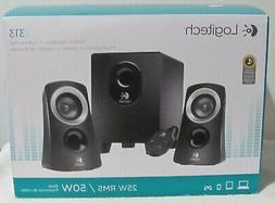 Logitech Z313 Speaker System-50 Watts,1 Subwoofer, 2 Stereo