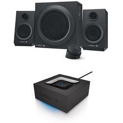 Logitech Z333 80 Watts Multimedia Speakers with Logitech Blu